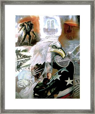 The New American Pride Framed Print