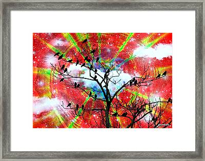 The New Awakens Perplexity And Resistance Framed Print