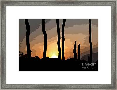 The New Dawn Framed Print
