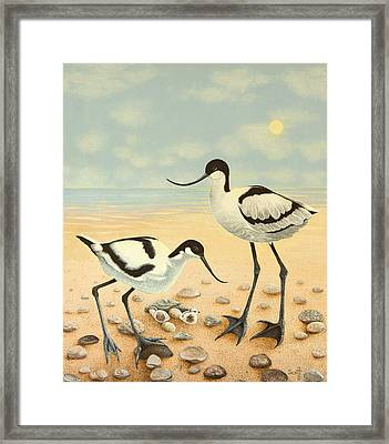 The New Generation Framed Print by Pat Scott