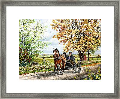 The New Horse Framed Print