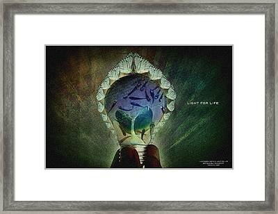 The New Life Framed Print by Edwin Loyola