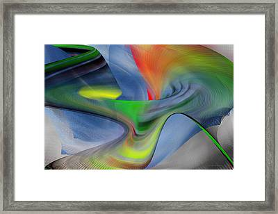 Framed Print featuring the digital art The New One by rd Erickson