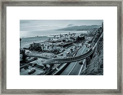 The New P C H Overpass Framed Print