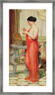 The New Perfume, 1914 Framed Print