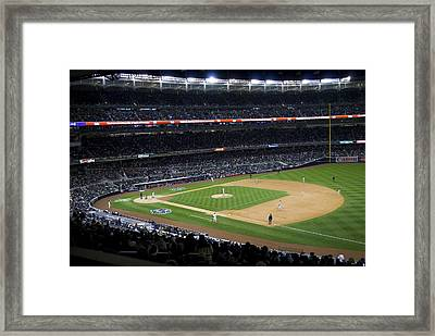 The New Yankee Stadium Framed Print by Andrew Kazmierski