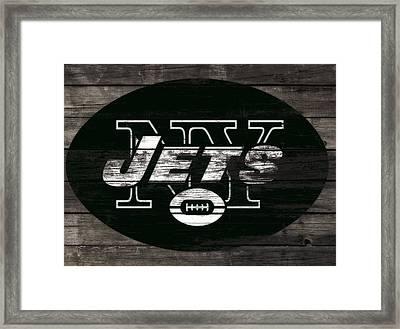 The New York Jets 3h Framed Print