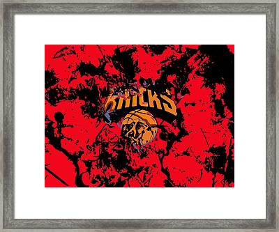 The New York Knicks 1a Framed Print