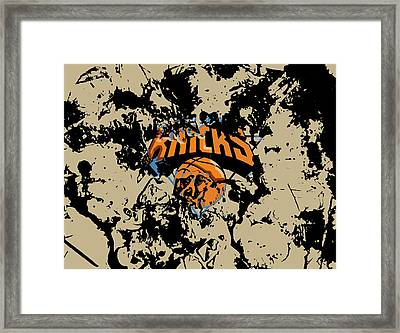 The New York Knicks 1b Framed Print