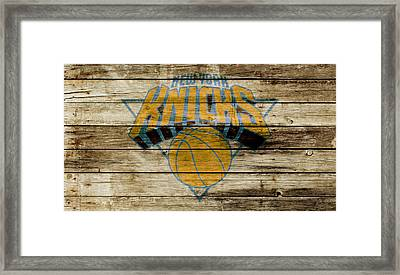 The New York Knicks W1 Framed Print
