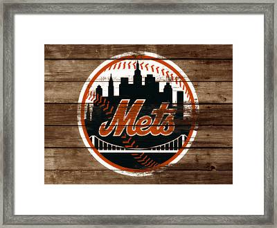 The New York Mets 3a Framed Print by Brian Reaves