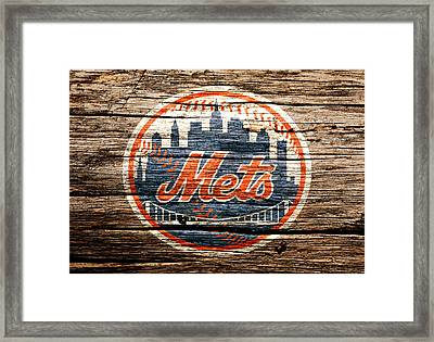 The New York Mets 6c Framed Print by Brian Reaves