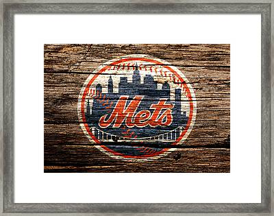 The New York Mets 6d Framed Print by Brian Reaves