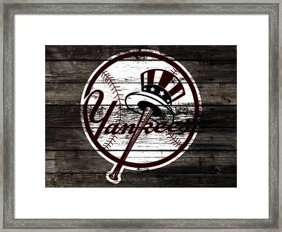 The New York Yankees 3c    Framed Print by Brian Reaves