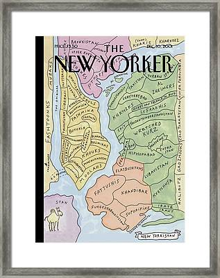 New Yorkistan Framed Print