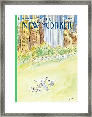 The New Yorker Cover - May 18th, 1998 Framed Print