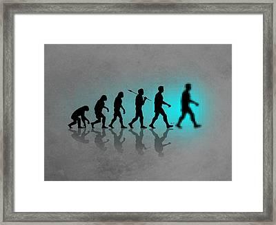 The Next Big Step Framed Print by Filippo B