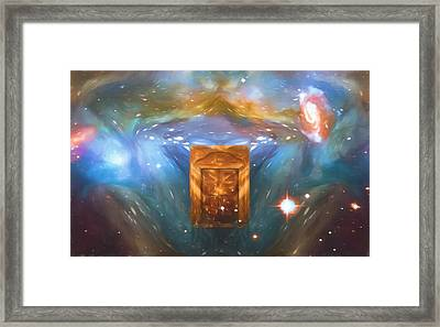 The Next Dimension Framed Print