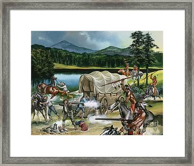 The Nez Perce Framed Print by Ron Embleton