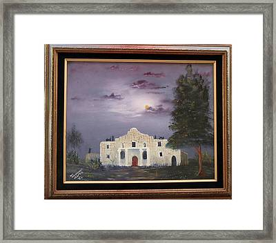 The Night Before Framed Print by Al Johannessen