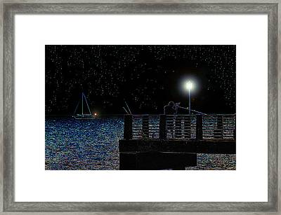 The Night Caster Framed Print by David Lee Thompson