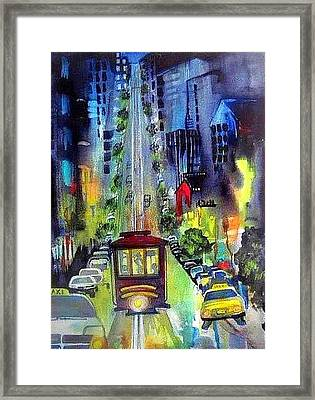 The Night Life Framed Print