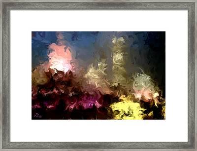 The Night Moves Framed Print by Wayne Bonney