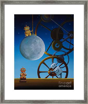 The Night Shift Framed Print by Cindy Thornton