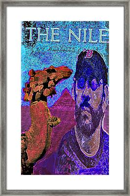 The Nile Framed Print by Noredin Morgan