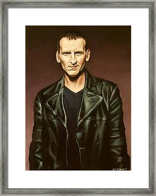 The Ninth Doctor Framed Print by Emily Jones