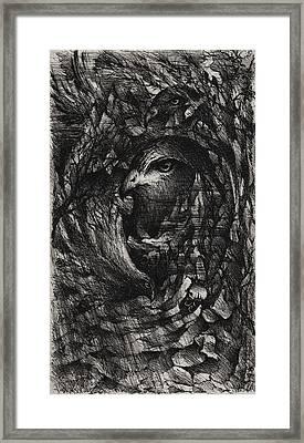 The Ninth Hour Framed Print