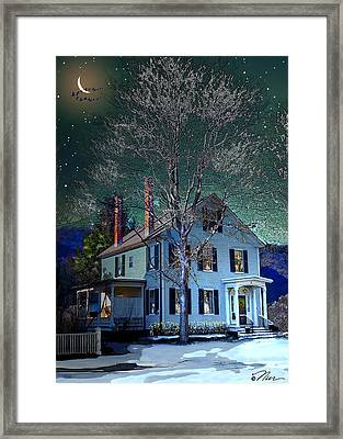 The Noble House Framed Print