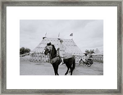 The Noble Man Framed Print