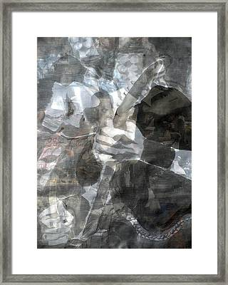 The Nobody Framed Print by Chad Rice