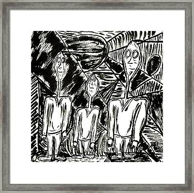 The Nod Trio Circa 1967 Framed Print