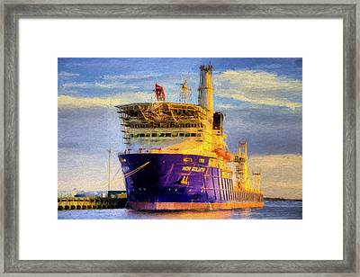 The Nor Goliath Framed Print by JC Findley