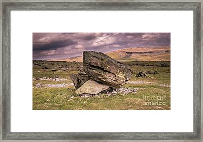 The Norber Framed Print by Peter Stuart