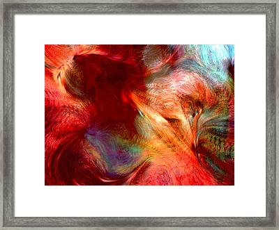 The Norsemen Framed Print