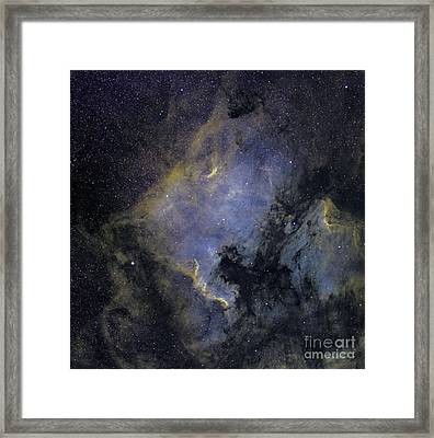 The North America Nebula Framed Print by Phillip Jones