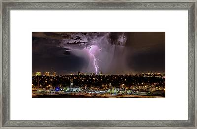 The North American Monsoon Framed Print