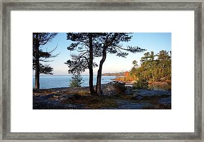 The North Framed Print