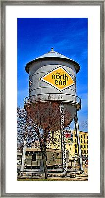 The North End Framed Print