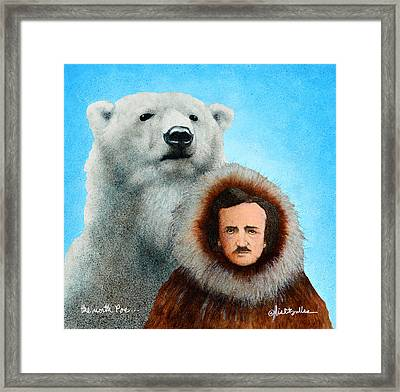 the North Poe... Framed Print