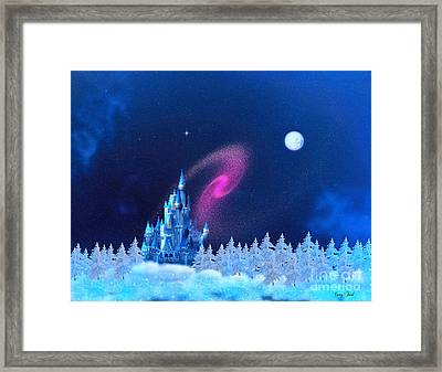 The North Pole Framed Print by Corey Ford