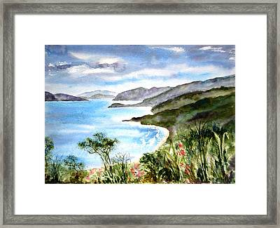 The North Shore Framed Print