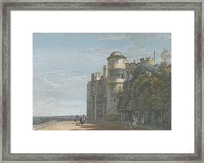 The North Terrace, Looking East Framed Print by Paul Sandby