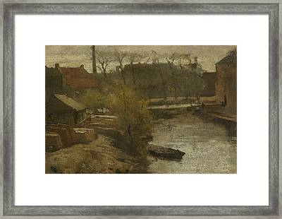 The North West Buitensingel Hague Framed Print by Matthijs Maris