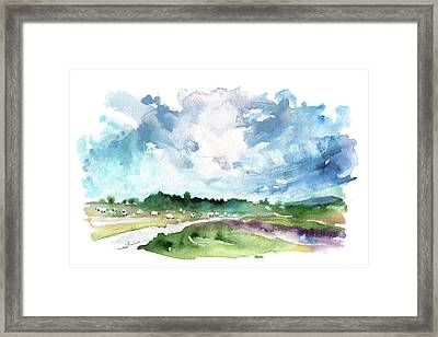 The North Yorkshire Moor 01 Framed Print