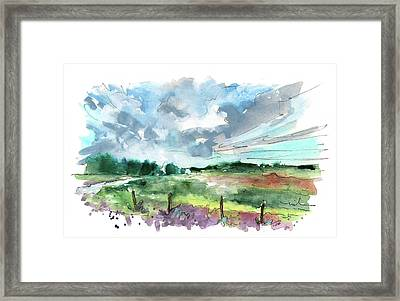The North Yorkshire Moor 02 Framed Print