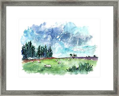 The North Yorkshire Moor 03 Framed Print
